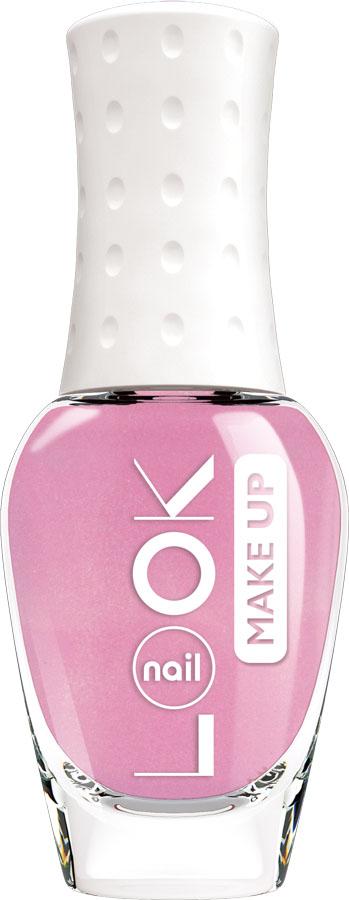 nailLOOK Лак для ногтей Look Trends Nail Make-Up, 8,5 мл нежно-розовый с сатиновым эффектом