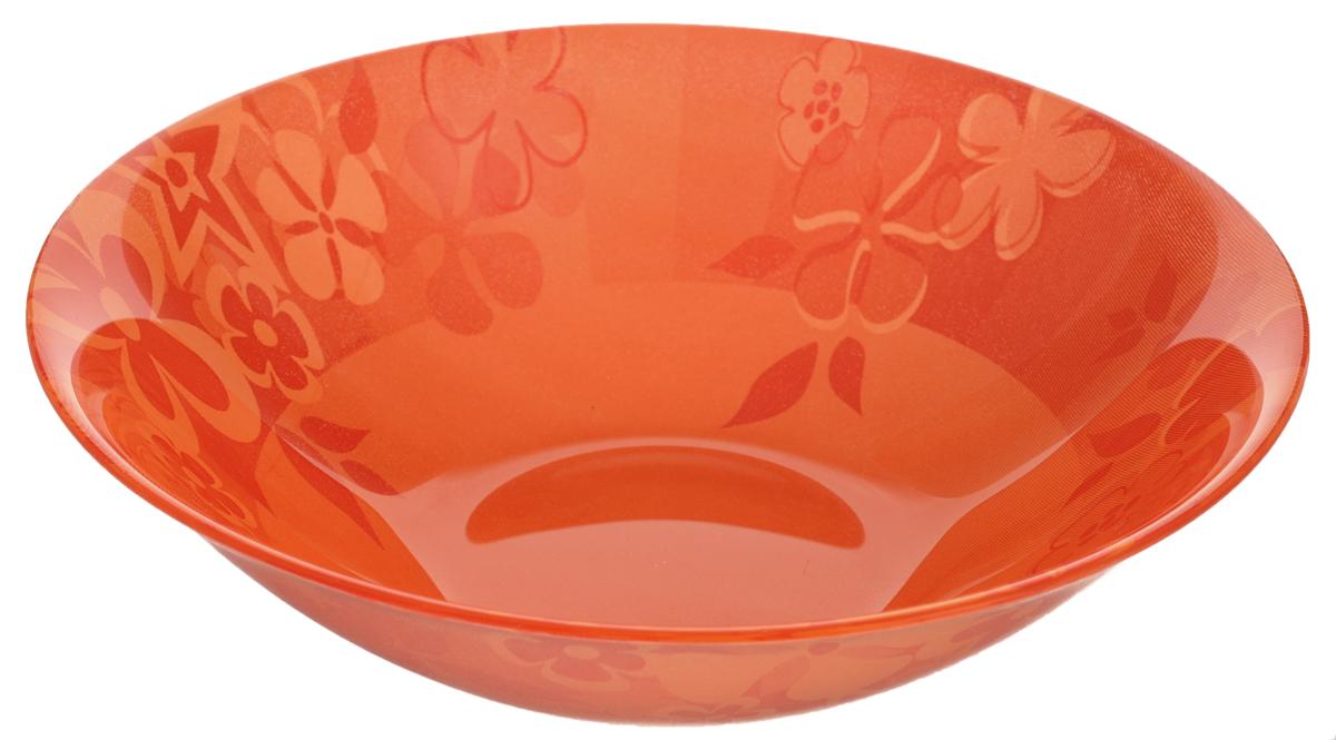 Миска Luminarc Little Flowers, диаметр 16,5 смH4910Миска Luminarc Little Flowers выполнена из высококачественного стекла. Изделие сочетает в себе изысканный дизайн с максимальной функциональностью. Она прекрасно впишется в интерьер вашей кухни и станет достойным дополнением к кухонному инвентарю. Миска Little Flowers подчеркнет прекрасный вкус хозяйки и станет отличным подарком. Диаметр миски (по верхнему краю): 16,5 см. Высота стенки: 4,7 см.
