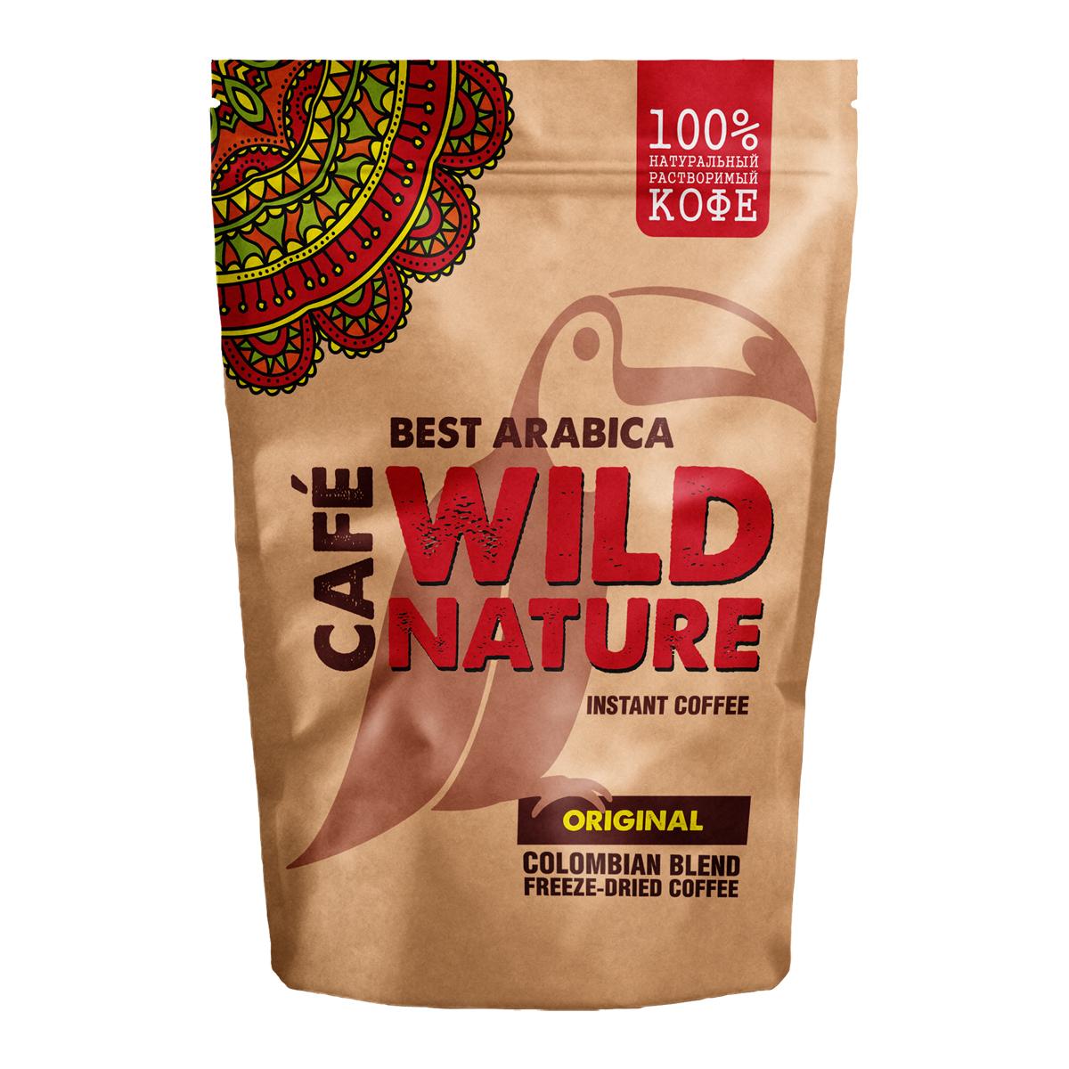 Wild Nature Original кофе растворимый, 75 г