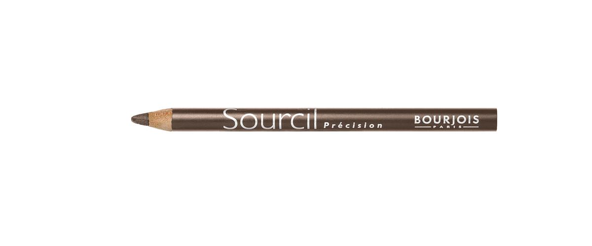 Bourjois контурный карандаш для бровей sourcil precision Тон 07 noisette 1 мл29101344007Плотная текстура карандаша позволяет наполнить брови красивым, натуральным цветом. Идеальная щеточка придает бровям форму. Карандаш не растекается и позволяет при желании изменить форму бровей.