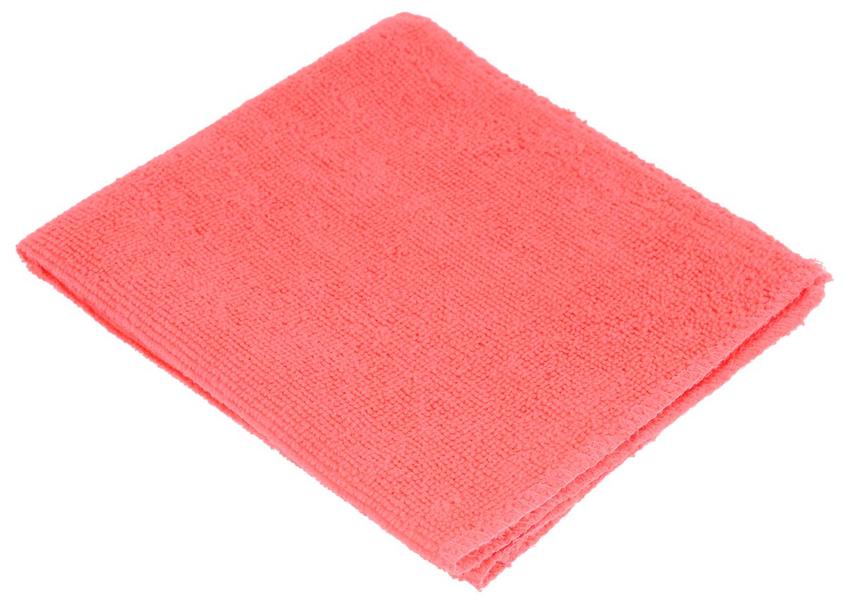 Салфетка для мебели и полированных поверхностей Eva, цвет: коралловый, 35 х 30 смЕ4804_коралловыйСалфетка Eva, выполненная из микрофибры, прекрасно подойдет для мебели и полированных поверхностей. Благодаря своей структуре, она отлично полирует, впитывает влагу и не оставляет царапин и ворса на поверхности, экономит полирующие средства и быстро сохнет.