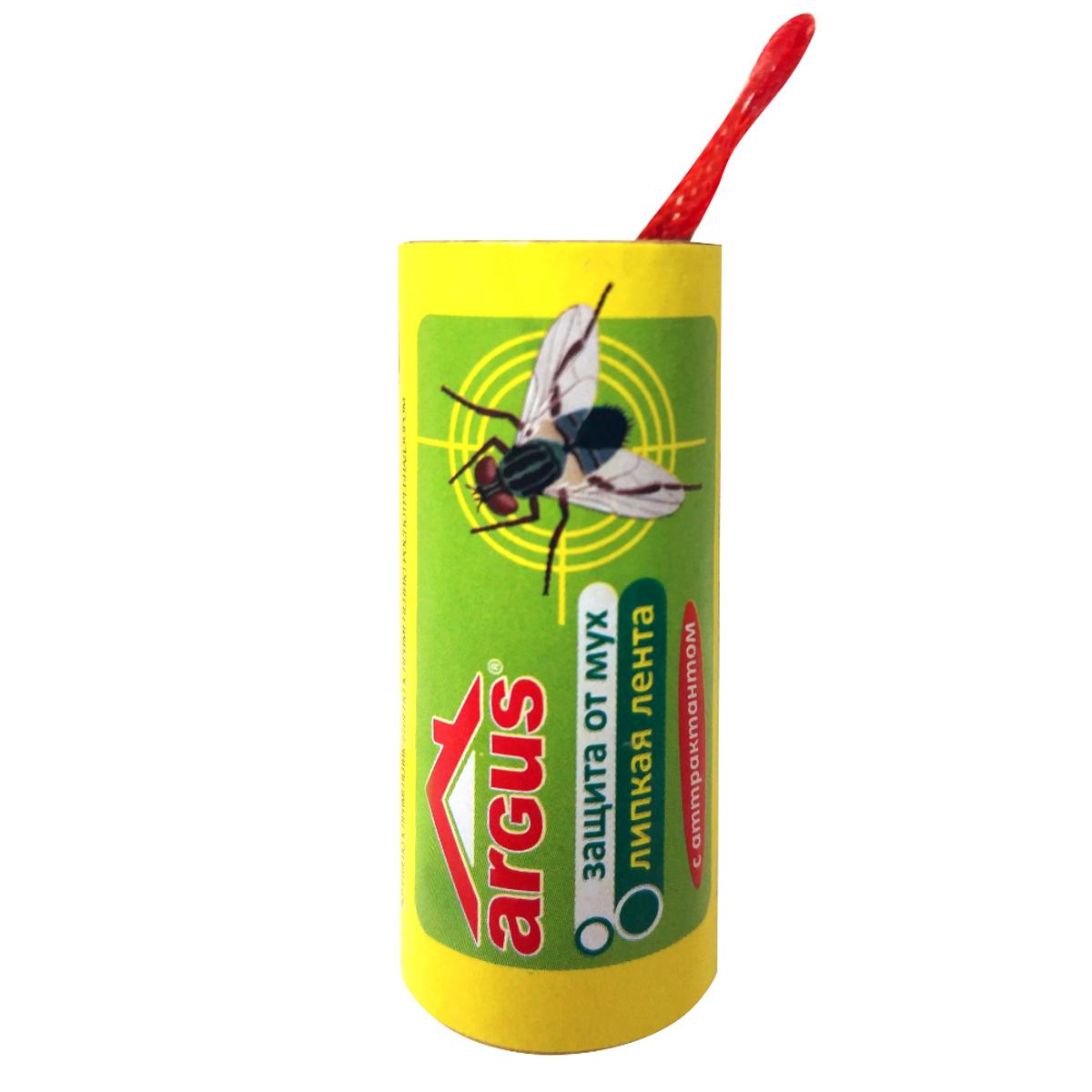 Липкая лента от мух ArgusСЗ.020003Липкая лента Argus - это удобное и простое в использовании средство, которое надежно защитит вас и вашу семью от мух в закрытом помещении или значительно снизит их количество на открытом воздухе. Специальный аттрактант является привлекательной приманкой для мух, что делает липкие ленты Argus наиболее эффективными. Не содержит веществ, опасных для людей и домашних животных. Для помещения площадью 10 м2 требуется 2-3 липучки. Состав: каучук, производные полиизобутилена, аттрактант, масло минеральное.