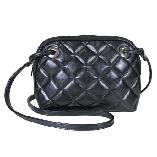 Сумка женская Antan, цвет: черный. 9-259-25Эта компактная сумка покорит вас своим удобством, а через несколько дней вы уже не сможете без нее обойтись. Украшена серебристой фурнитурой. Закрывается на застежку-молнию. Носится в руке как клатч или через плечо.