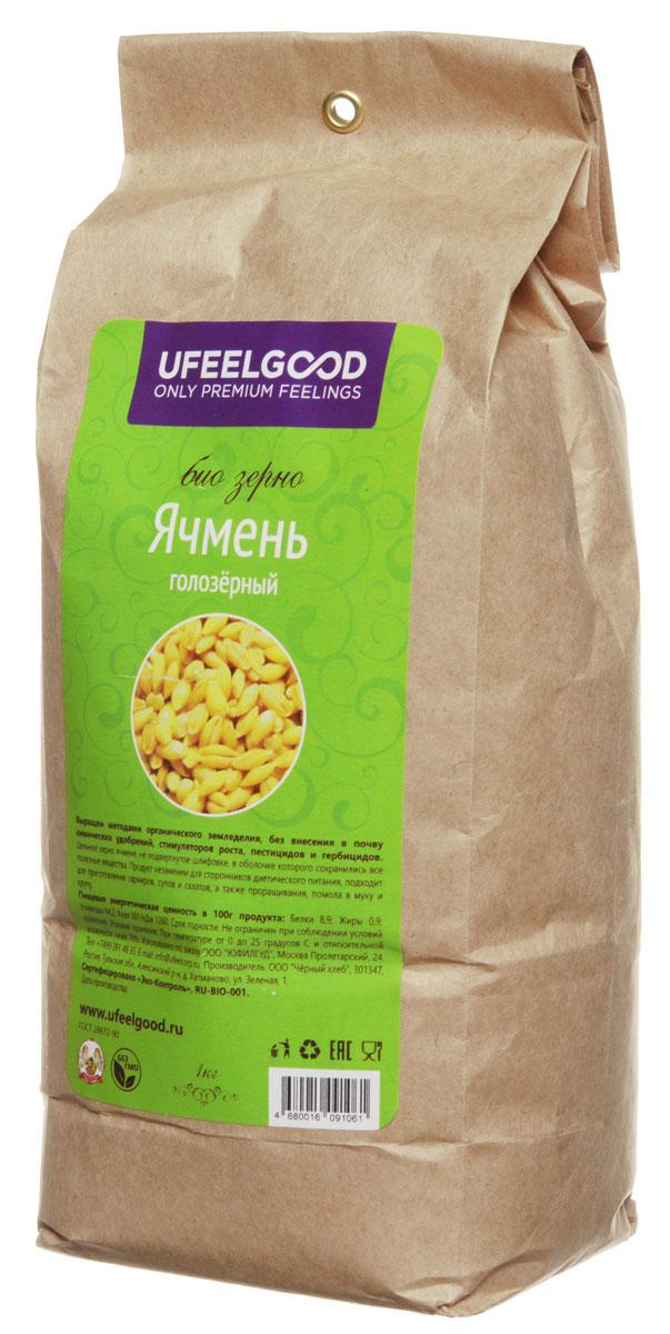 UFEELGOOD био зерно ячменя голозерного, 1000 г21Очищенный ячмень от UFEELGOOD выращен в экологическом хозяйстве в Тульской области. который не требует долгого и тщательного отваривания. Очищенный ячмень легче и быстрее готовить, чем цельнозерновой. Рекомендуется добавлять в салаты и в овощные рагу, а также использовать в приготовлении каш, плова, ризотто и для фаршировки овощей. Особенные свойства: Ячмень голозерный — это сорт ячменя, на зернах которого отсутствует пленчатая оболочка. Проростки ячменя повышают иммунитет, очищают организм от токсинов и шлаков. Рекомендуются как общеукрепляющее, тонизирующее средство, при гиповитаминозе, диабете, дисбактериозе, избыточном весе. Содержит витамины: А, В1, В2, В6, В12, С, D, Е и К. Укрепляет иммунитет, нормализует сахар в крови, восстанавливает организм. Рекомендован для диетического питания. С простым, казалось бы исконно русским, ячменем можно приготовить даже изысканное блюдо нового света.
