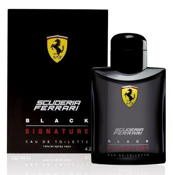 Ferrari Туалетная вода BLACK SIGNATURE мужская, 40 мл67000349Scuderia Ferrari Black Signature Ferrari - это аромат для мужчин, принадлежит к группе ароматов фужерные. Scuderia Ferrari Black Signature выпущен в 2013. Верхние ноты: грейпфрут, Зеленое яблоко и Звездчатый анис; ноты сердца: мускатный орех, Мускус, кожа и Морские ноты; ноты базы: Ветивер, Белый кедр и Амбретта.