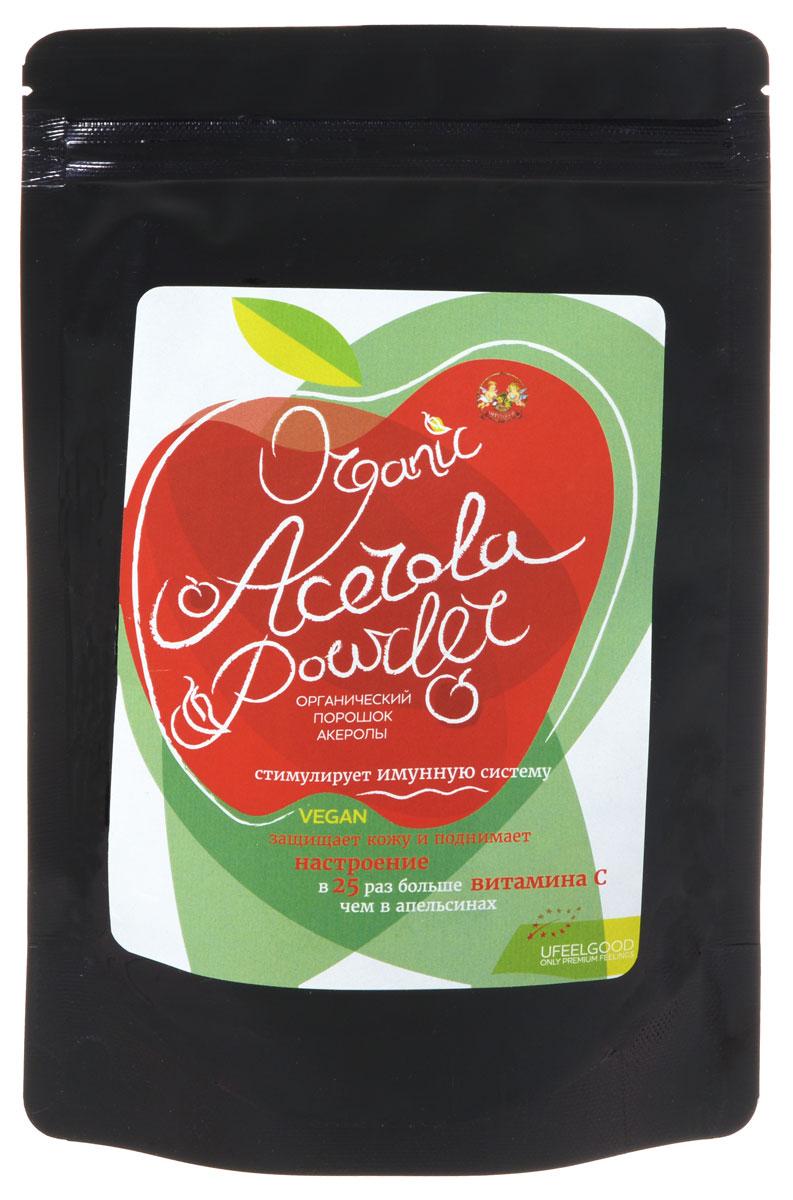 UFEELGOOD Organic Acerola Powder органическая ацерола молотая, 100 г 51