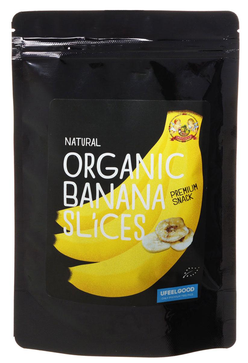 UFEELGOOD Organic Banana Slice органические банановые слайсы, 100 г 199