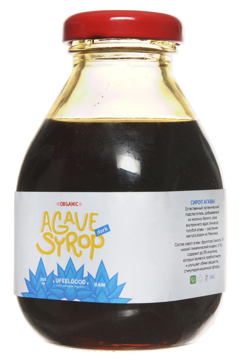 UFEELGOOD Organic Syrup Agava органический сироп агавы, 200 мл149Агава – это кактус, который распространён в западной Мексике. Науке известны 136 его видов, среди который особенно популярна голубая агава. Индейцами Южной и Центральной Америки полезные свойства агавы и вкусовые качества этого растения используются несколько тысяч лет. Нектар агавы они применяли в приготовлении пищи, разных напитков и - удивительно - ткани. В наши дни широким спросом во всем мире пользуется сироп голубой агавы благодаря натуральным свойствам и приятной сладости. Такой сироп — натуральный органический подсластитель, который добывается из сока пинаса - ядра голубой агавы. Сок этот имеет белый цвет, а конечный продукт может быть любого другого оттенка. Более 76% состава сиропа агавы от UFEELGOOD составляет органическая фруктоза - которая слаще и гораздо полезнее сахара. В пользу сиропа агавы говорят следующие его свойства: Низкий гликемический индекс (47 из 100) Блокировка выработки инсулина Малое содержание углеводов в...
