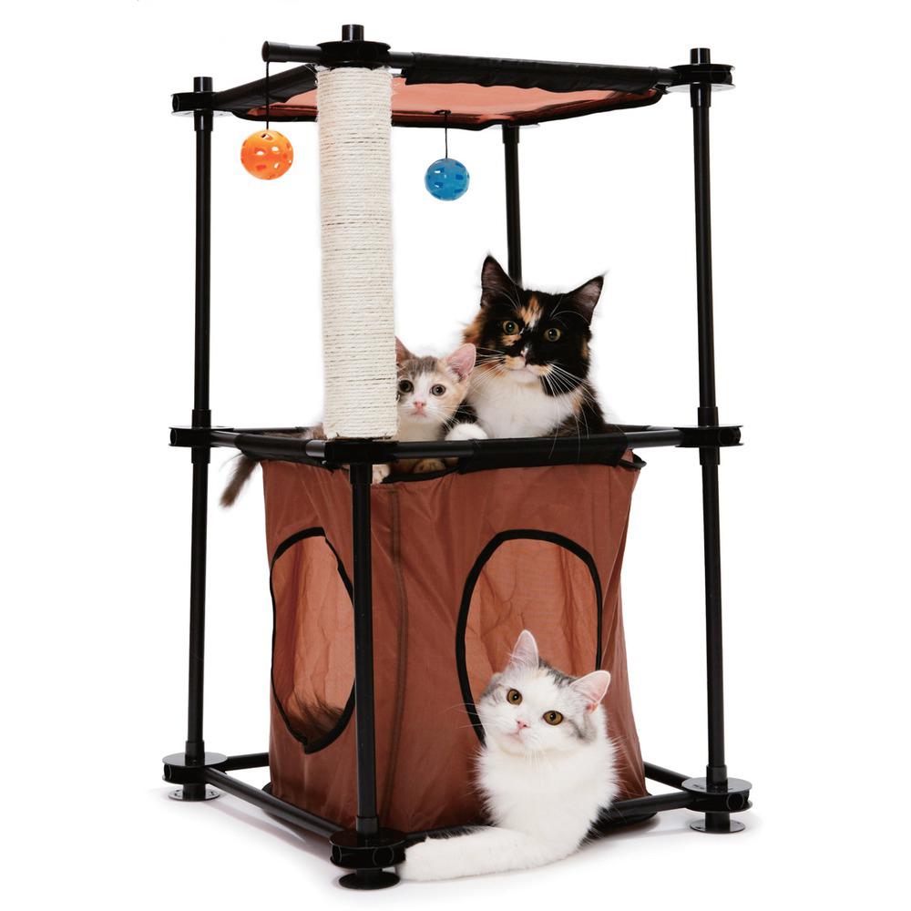 Игрушечные домики для кошек