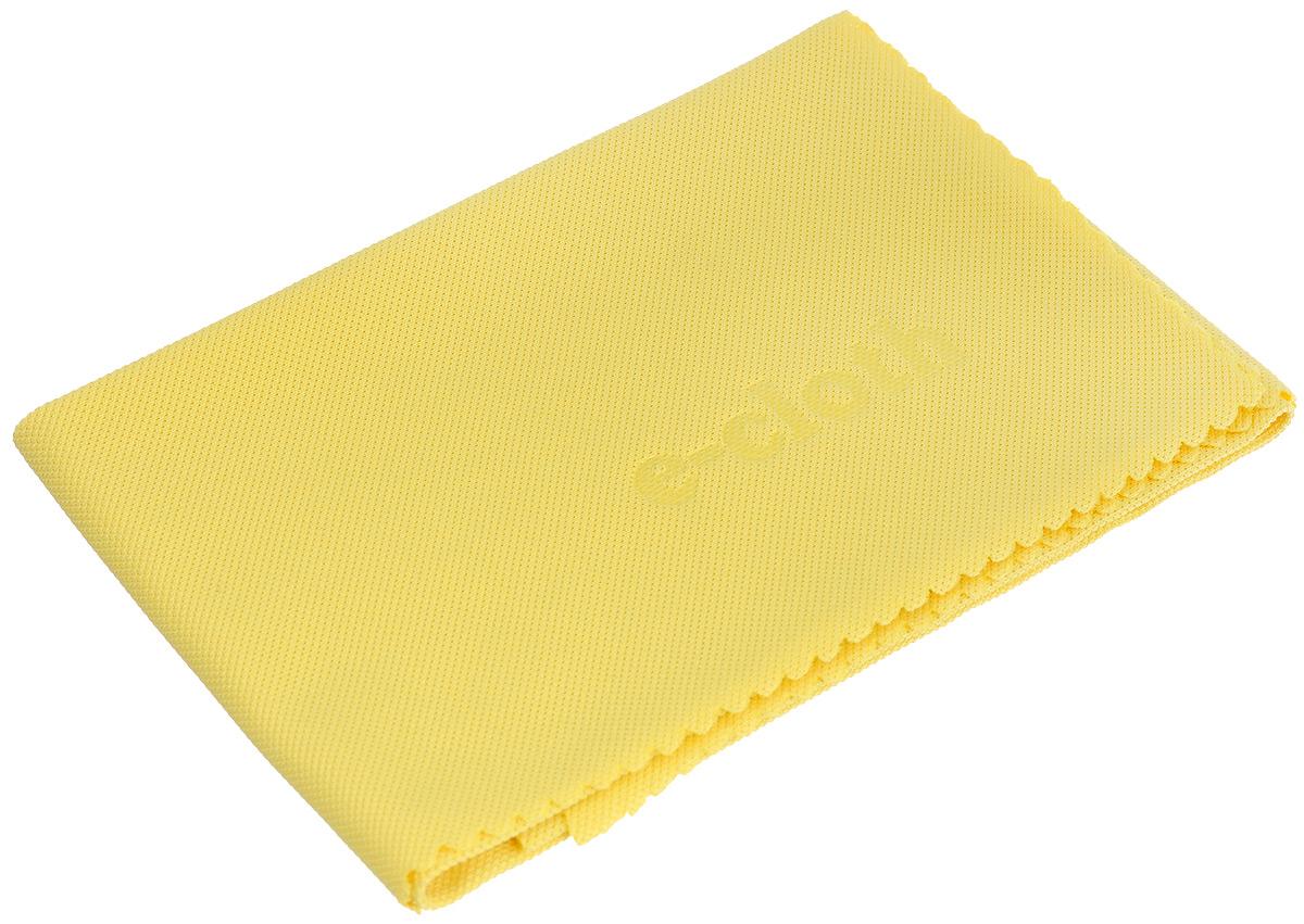 Салфетка E-cloth для полировки и очистки стекла, цвет: желтый, 40 х 50 см. 20244 + ПОДАРОК: салфетка для смартфона20244_желтыйСалфетка E-cloth выполнена из качественного комбинированного материала: полиэстера и полиамида. Используется для очистки и полировки стеклянных, металлических и других твердых поверхностей без использования химических средств. Достаточно лишь смочить салфетку водой для очистки поверхности от жира и других загрязнений. Для полировки и придания блеска используйте сухую салфетку. Не оставляет разводов. Удаляет свыше 99% бактерий. Выдерживает до 300 циклов стирки без потери эффективности. Материал: 80% полиэстер, 20% полиамид. Размер салфетки: 40 х 50 см. В подарок прилагается салфетка для смартфона (21 см х 23 см).