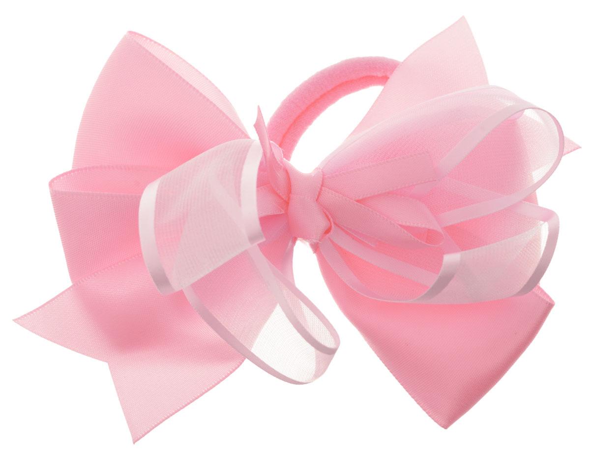 Babys Joy Бант для волос на резинке цвет светло-розовый MN 213MN 213_нежно-розовыйБант для волос на резинке Babys Joy состоит из большого двойного банта из атласа и капрона разной ширины. Бант на резинке позволит не только убрать непослушные волосы с лица, но и придать образу романтичности и очарования. Такой аксессуар для волос подчеркнет уникальность вашей маленькой модницы и станет прекрасным дополнением к ее неповторимому стилю.