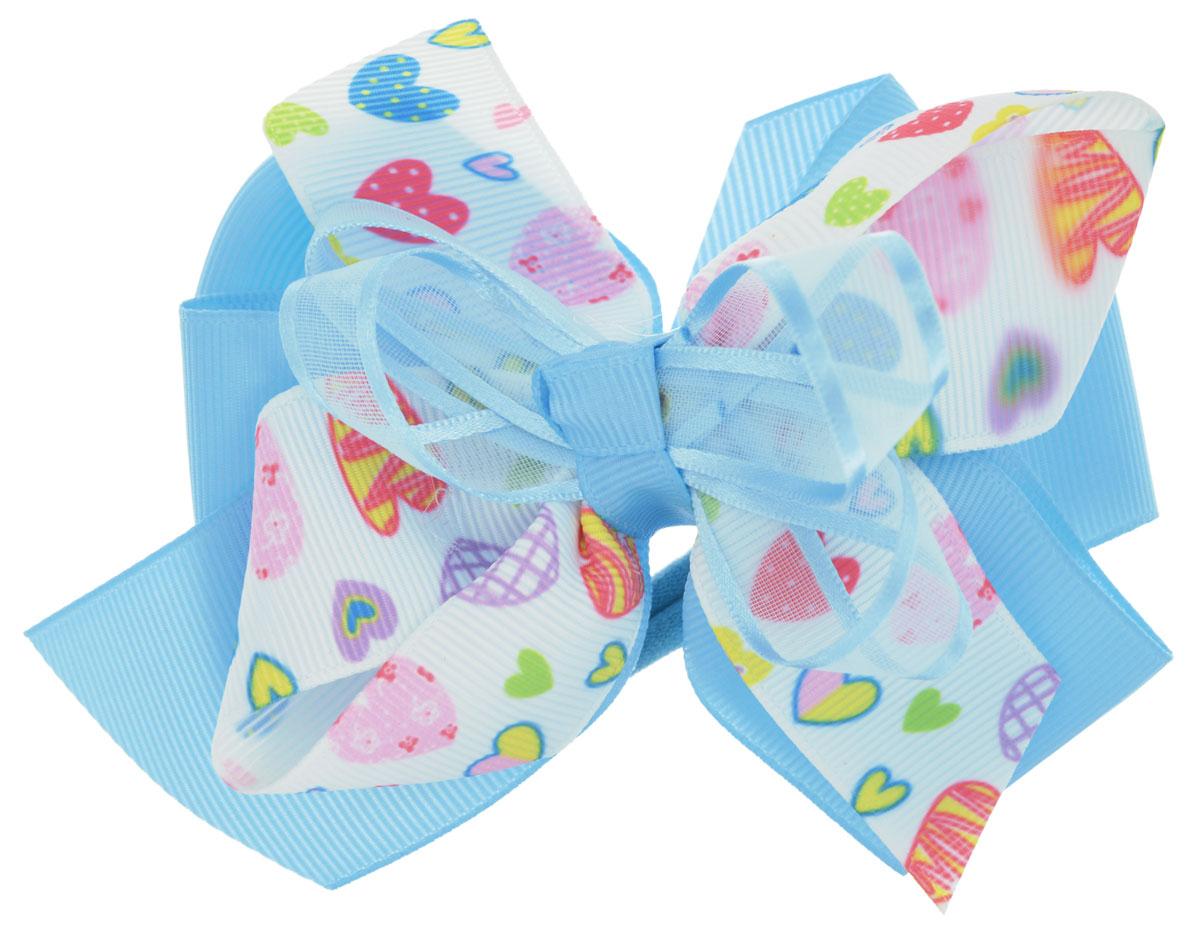 Baby's Joy Резинка для волос Сердца цвет голубой