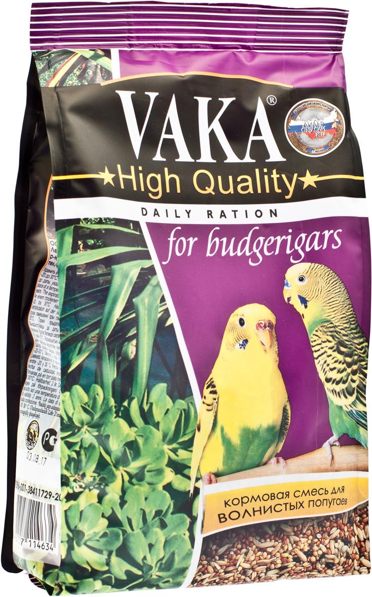 Вака High Quality корм для волнистых попугаев, 500 г54221