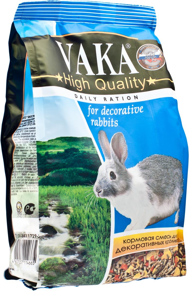 Вака High Quality корм для декоративных кроликов, 500 г54228