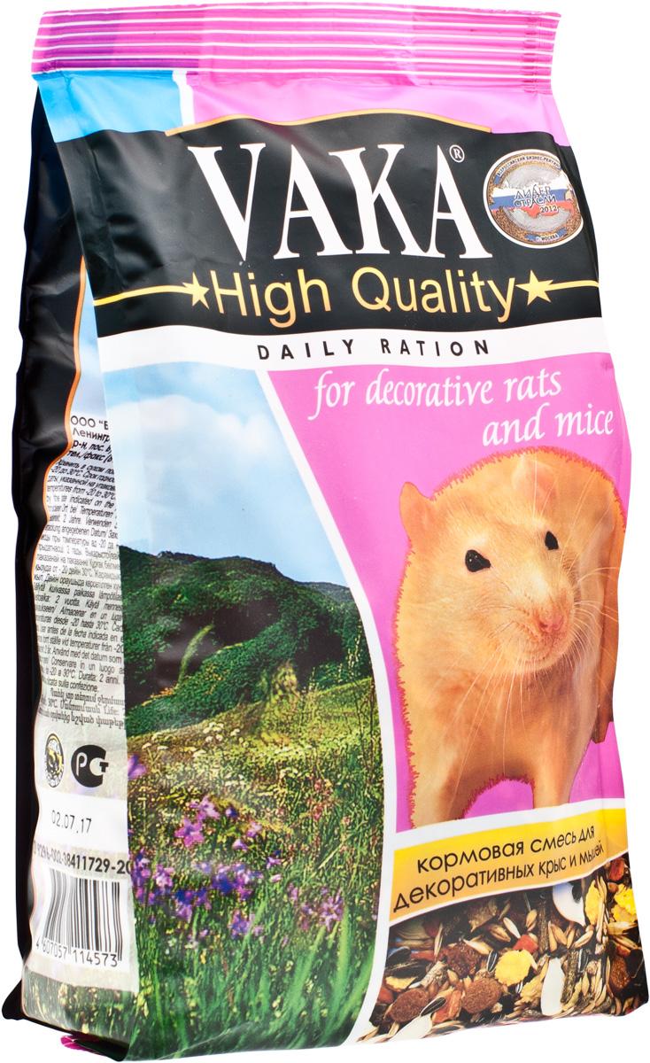 Вака High Quality корм для крыс и мышей, 500 г54917