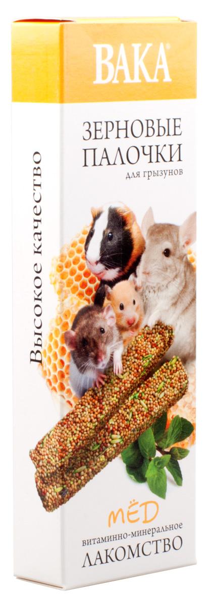 Зерновые палочки Вака для грызунов, мед, 2 шт79580