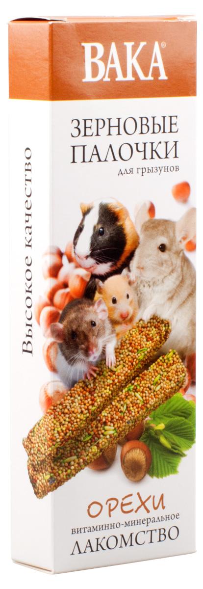 Зерновые палочки Вака для грызунов, орехи, 2 шт79581