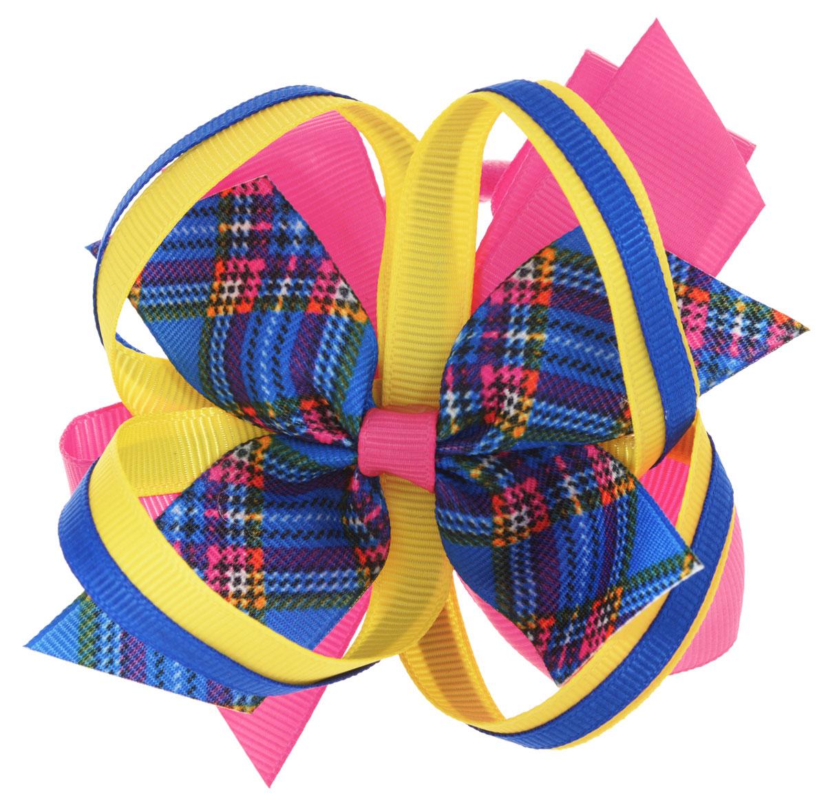 Baby's Joy Резинка для волос цвет малиновый синий желтый AL 969