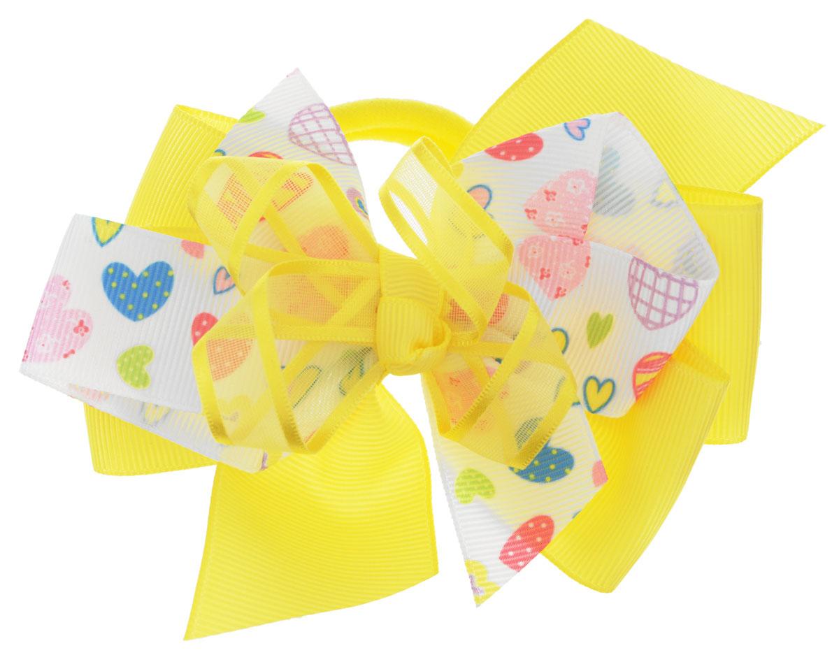 Baby's Joy Резинка для волос цвет желтый белый AL 970