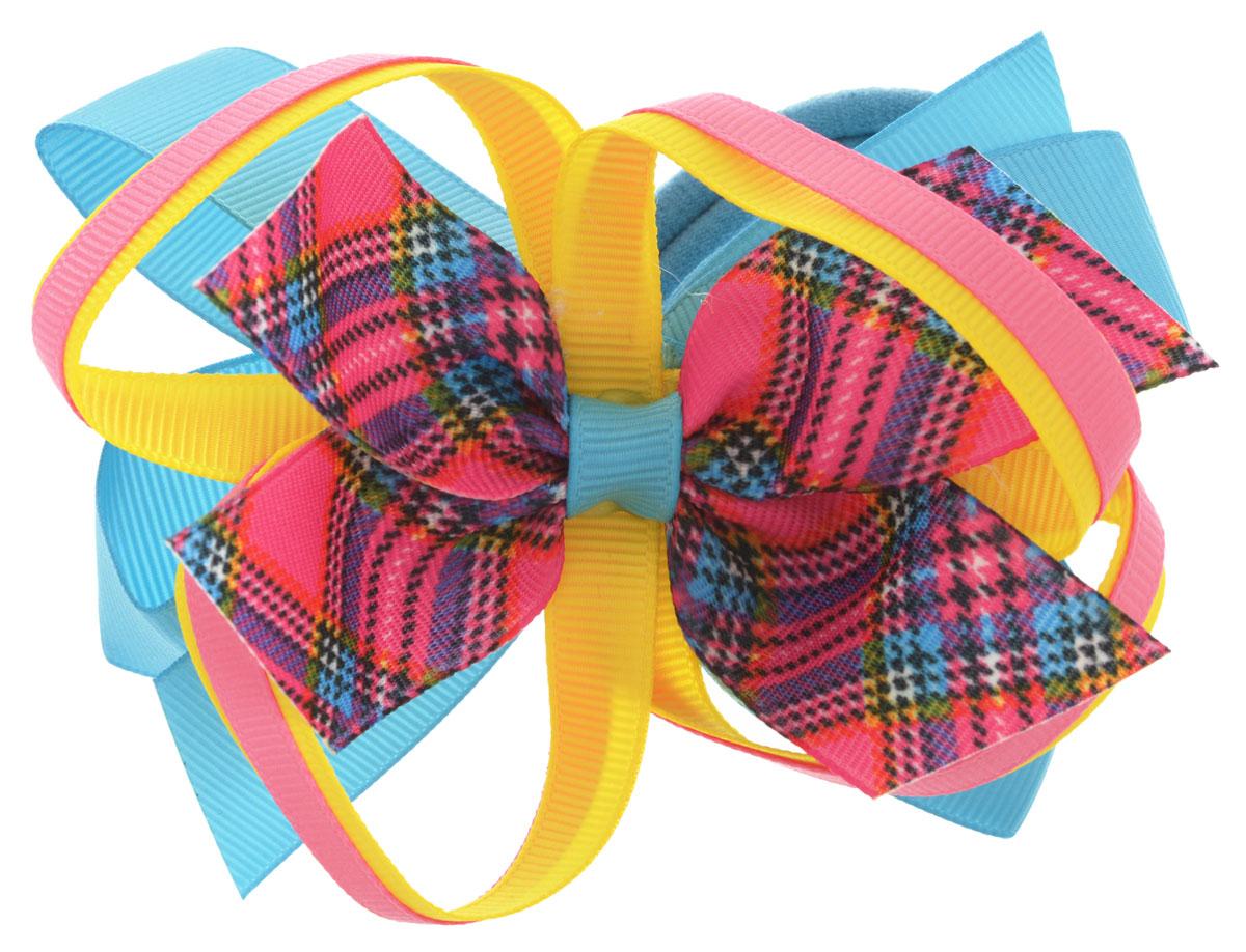 Baby's Joy Резинка для волос цвет голубой розовый желтый AL 969
