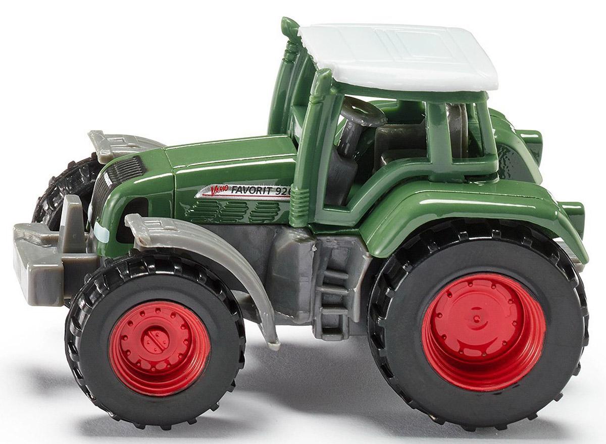 Siku Трактор Fendt Favorit 926 Vario0858Трактор Siku Fendt Favorit 926 Vario выполнен в виде копии настоящей спецтехники. Такая модель понравится не только ребенку, но и взрослому и приятно удивит высочайшим качеством исполнения. Корпус трактора выполнен из металла с элементами из пластика, колеса имеют свободный ход. Модель отличается великолепным качеством исполнения и детальной проработкой, она станет интересной игрушкой для ребенка, интересующегося автотехникой.
