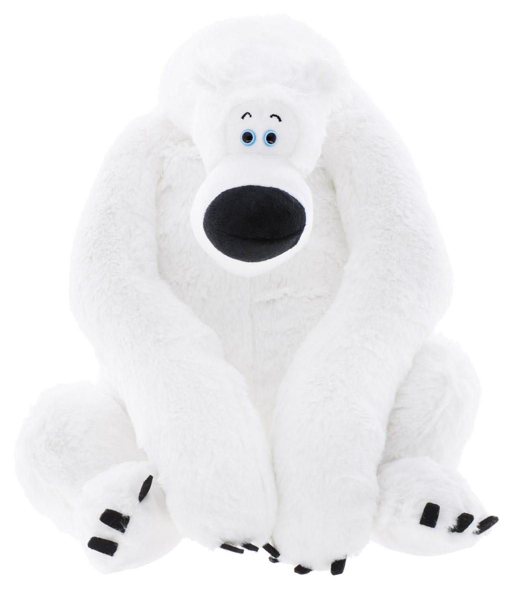 СмолТойс Мягкая игрушка Медведь Боня 35 см2103/БЕЛ/35Мягкая игрушка СмолТойс Медведь Боня не оставит вас равнодушным и вызовет улыбку у каждого, кто ее увидит. Игрушка изготовлена из высококачественных материалов в виде забавного медведя белого цвета. Глазки выполнены из пластика. Специальные гранулы, используемые при ее набивке, способствуют развитию мелкой моторики рук малыша. Симпатичная игрушка, которая неизменно будет радовать вашего ребенка, а также способствовать полноценному и гармоничному развитию его личности.