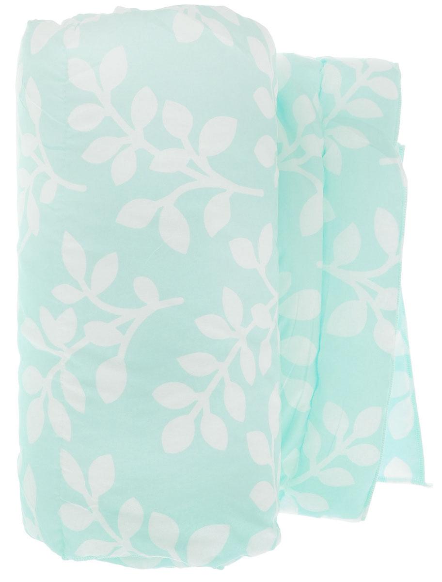 Одеяло Sleeper Дили, наполнитель: силиконизированное волокно, цвет: голубой, белый, 140 х 200 см22(13)323_голубойОдеяло Sleeper Дили подарит уютный и комфортный сон. Чехол одеяла выполнен из микрофибры, наполнитель - силиконизированное волокно. Изделие с синтетическим наполнителем: - не вызывает аллергических реакций; - воздухопроницаемо; - не впитывает запахи; - имеет удобную форму. Рекомендации по уходу: - Стирка при температуре не более 40°С. - Запрещается отбеливать, гладить. Материал чехла: микрофибра (100% полиэстер). Наполнитель: силиконизированное волокно. Масса наполнителя: 0,40 кг.