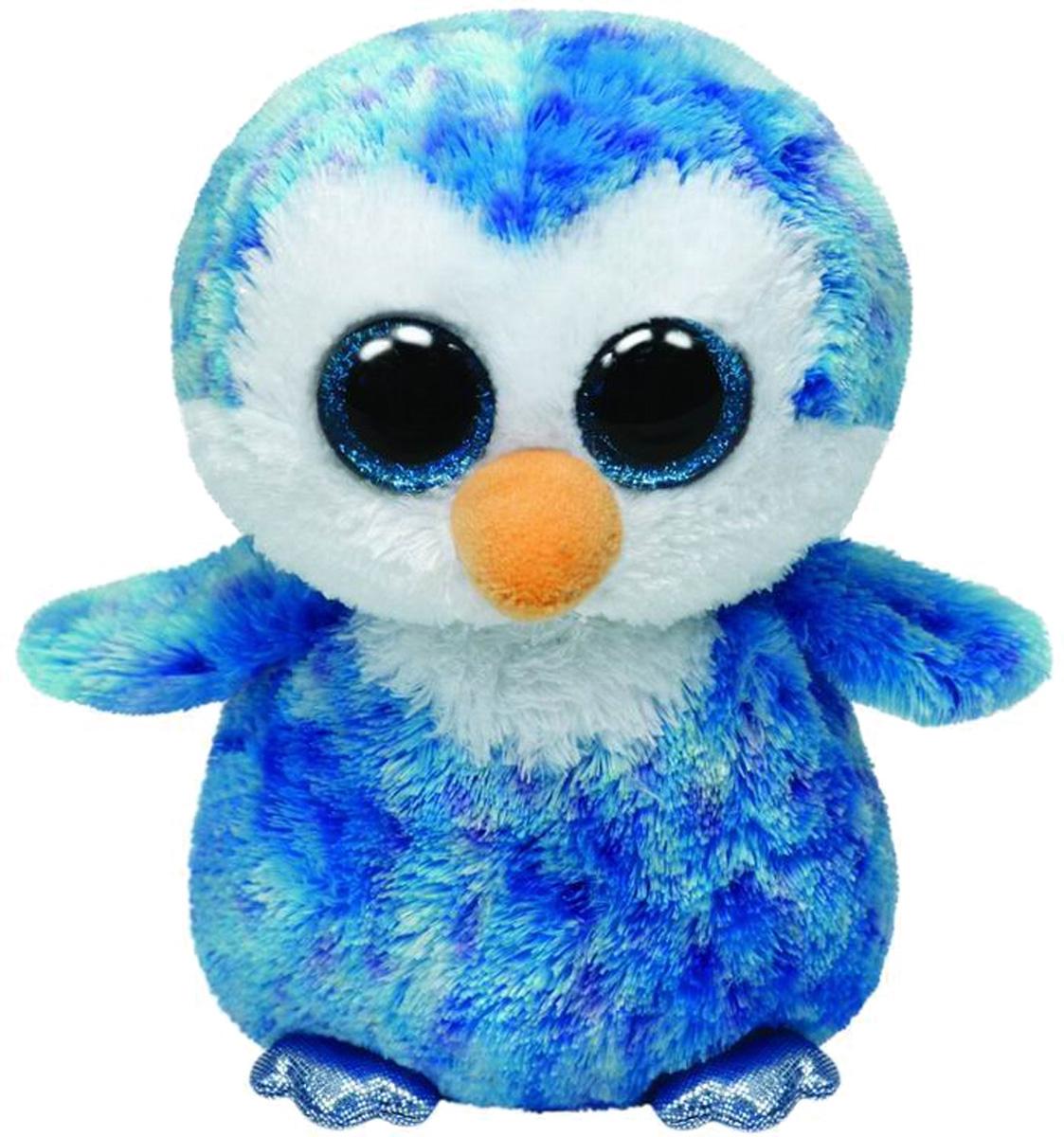 Beanie Boos Пингвин Ice Cube, 23 см37044Мягкая игрушка TY - это прекрасный подарок для вашего малыша. Модель отличается оригинальным дизайном и качественным исполнением. Игрушка станет верным другом для каждого ребёнка, подарит множество приятных мгновений и непременно поднимет настроение. Изготовлена из искусственного и трикотажного меха, полиэфирного волокна, фурнитура - из пластмассы. Эта милая и забавная игрушка обязательно понравится вашему ребёнку.