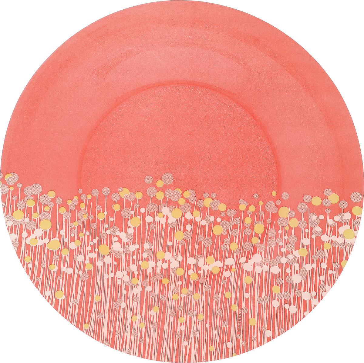 Тарелка десертная Luminarc Flowerfield Red, 19,5 смH2483Десертная тарелка Luminarc Flowerfield Red, изготовленная из ударопрочного стекла, имеет изысканный внешний вид. Такая тарелка прекрасно подходит как для торжественных случаев, так и для повседневного использования. Идеальна для подачи десертов, пирожных, тортов и многого другого. Она прекрасно оформит стол и станет отличным дополнением к вашей коллекции кухонной посуды. Диаметр тарелки (по верхнему краю): 19,5 см.