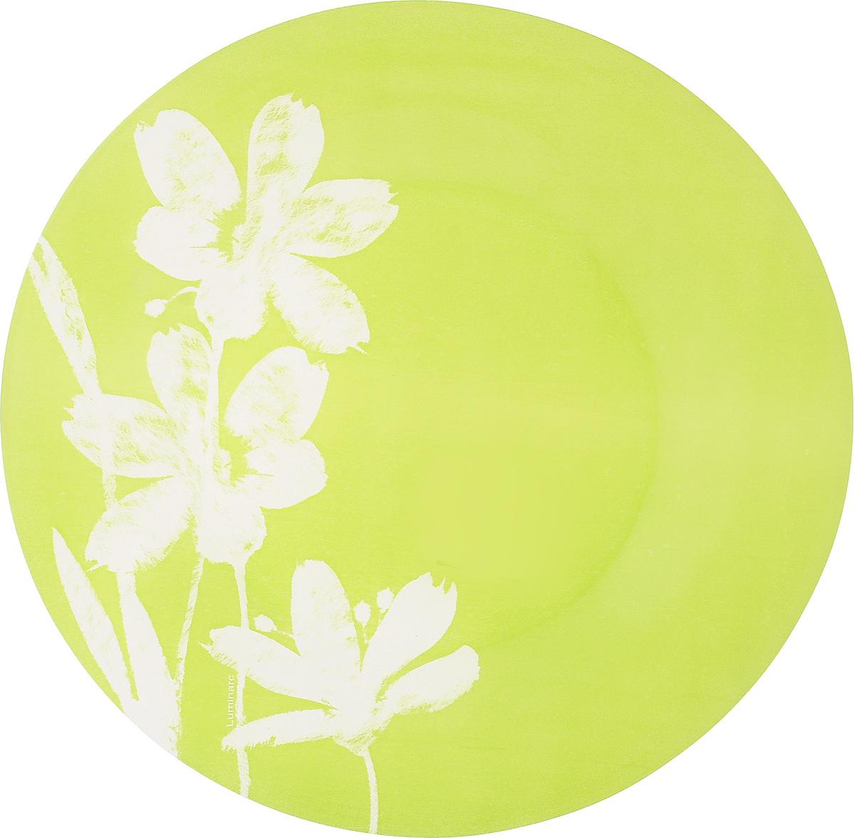 Тарелка десертная Luminarc Cotton Flower, 20 смH2783Десертная тарелка Luminarc Cotton Flower, изготовленная из ударопрочного стекла, имеет изысканный внешний вид. Такая тарелка прекрасно подходит как для торжественных случаев, так и для повседневного использования. Идеальна для подачи десертов, пирожных, тортов и многого другого. Она прекрасно оформит стол и станет отличным дополнением к вашей коллекции кухонной посуды. Диаметр тарелки (по верхнему краю): 20 см.