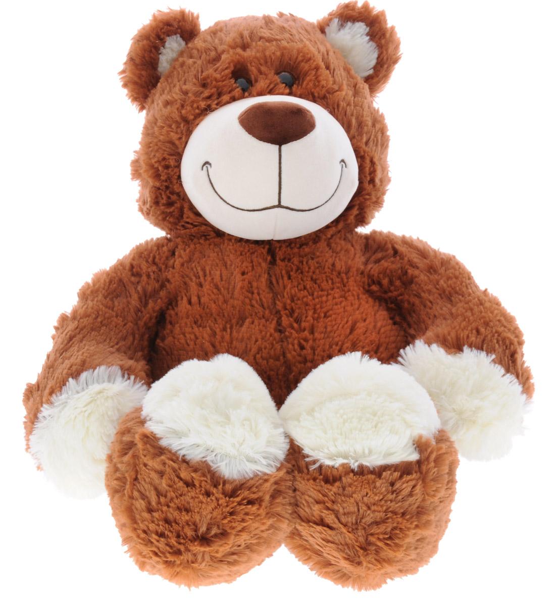 СмолТойс Мягкая игрушка Медвежонок 65 см1549/КЧМягкая игрушка СмолТойс Медвежонок станет лучшим другом для любого ребенка. Игрушка изготовлена из безопасных, приятных на ощупь текстильных материалов в виде медвежонка. Оригинальный стиль и великолепное качество исполнения делают эту игрушку чудесным подарком к любому празднику. Медвежонок принесет радость и подарит своему обладателю мгновения нежных объятий и приятных воспоминаний.
