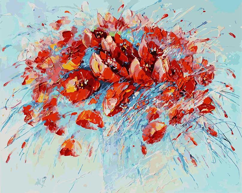 Набор для живописи Белоснежка Салют, 40 х 50 см031-АВКартина раскрашивается без смешивания красок. Все необходимые цвета красок есть в комплекте. Просто закрашивайте участки красками с соответствующим номером. В набор также входит холст, натянутый на деревянный подрамник, три кисточки, крепеж для подвешивания картины и контрольный лист. Художник: Лиана Моисеева