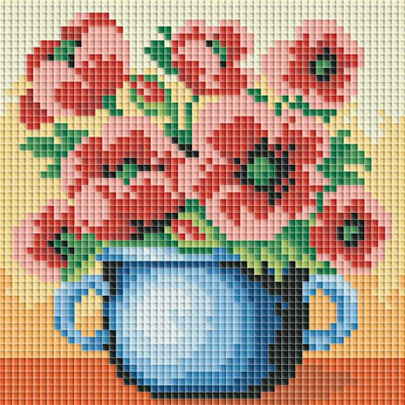 Набор для создания мозаики Белоснежка Красные маки 063-ST-PS