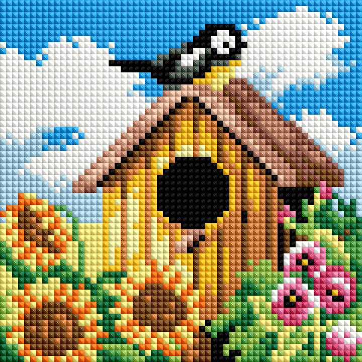 Набор для создания мозаики Белоснежка Птичий домик114-ST-РS
