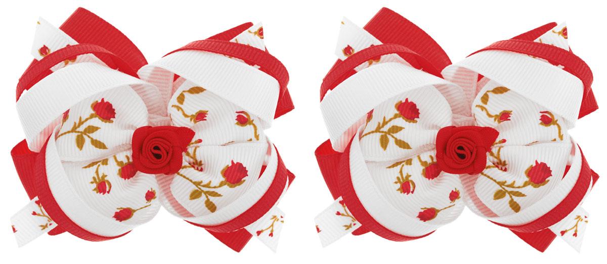 Babys Joy Резинка для волос Бант цвет красный 2 штMN 163/2_красныйРезинка для волос Babys Joy Бант выполнена в виде сложного текстильного бантика. Резинка позволит не только убрать непослушные волосы с лица, но и придать образу романтичности и очарования. Резинка для волос подчеркнет уникальность вашей маленькой модницы и станет прекрасным дополнением к ее неповторимому стилю. В комплекте 2 резинки для волос.