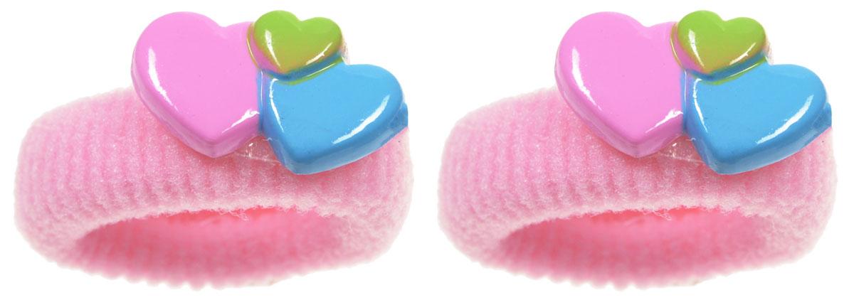 Babys Joy Резинка для волос Сердечки цвет розовый 2 штVT 75_розовыйРезинка для волос Babys Joy Сердечки украшена декоративным элементом в виде трех пластиковых сердечек. Резинка для волос Babys Joy Сердечки надежно зафиксирует непослушные локоны и подчеркнет красоту прически вашей маленькой принцессы. В упаковке 2 резинки.
