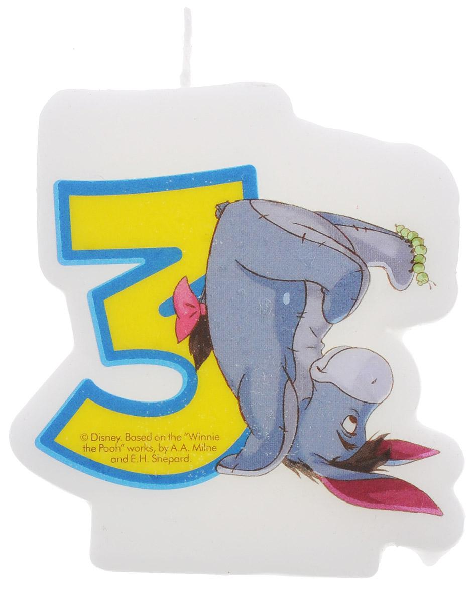 Procos Свеча-цифра для торта Винни-Пух 3 года8219 (82915)На каждом празднике все гости с нетерпением ожидают вкусного торта, особенно если этот праздник - детский день рождения. Сделать десерт необычным и запоминающимся вы сможете с оригинальными свечками от компании Procos. Свеча-цифра для торта Procos Винни-Пух отличается интересным дизайном с персонажем из мультфильма про Винни-Пуха и символизирует чудесный возраст малыша - 3 года.