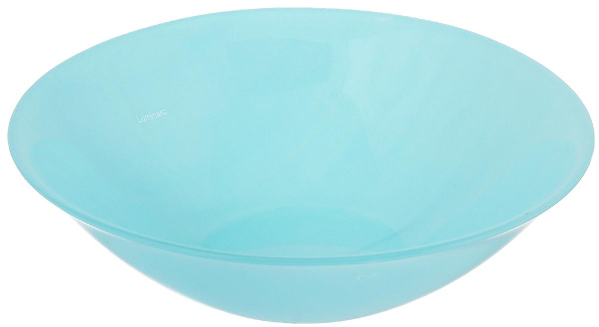 Салатник Luminarc Colorama Blue, диаметр 16,5 смJ7759Салатник Luminarc Colorama Blue выполнен из ударопрочного стекла и имеет классическую круглую форму. Он прекрасно впишется в интерьер вашей кухни и станет достойным дополнением к кухонному инвентарю. Салатник Luminarc Colorama Blue подчеркнет прекрасный вкус хозяйки и станет отличным подарком. Диаметр салатника (по верхнему краю): 16,5 см.
