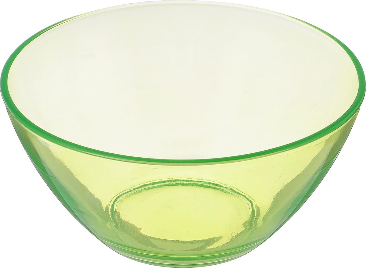 Салатник Luminarc Crazy Colors Green, диаметр 12,5 смJ0219Великолепный круглый салатник Luminarc Crazy Colors Green, изготовленный из ударопрочного стекла, прекрасно подойдет для подачи различных блюд: закусок, салатов или фруктов. Такой салатник украсит ваш праздничный или обеденный стол, а оригинальное исполнение понравится любой хозяйке. Диаметр салатника (по верхнему краю): 12,5 см.