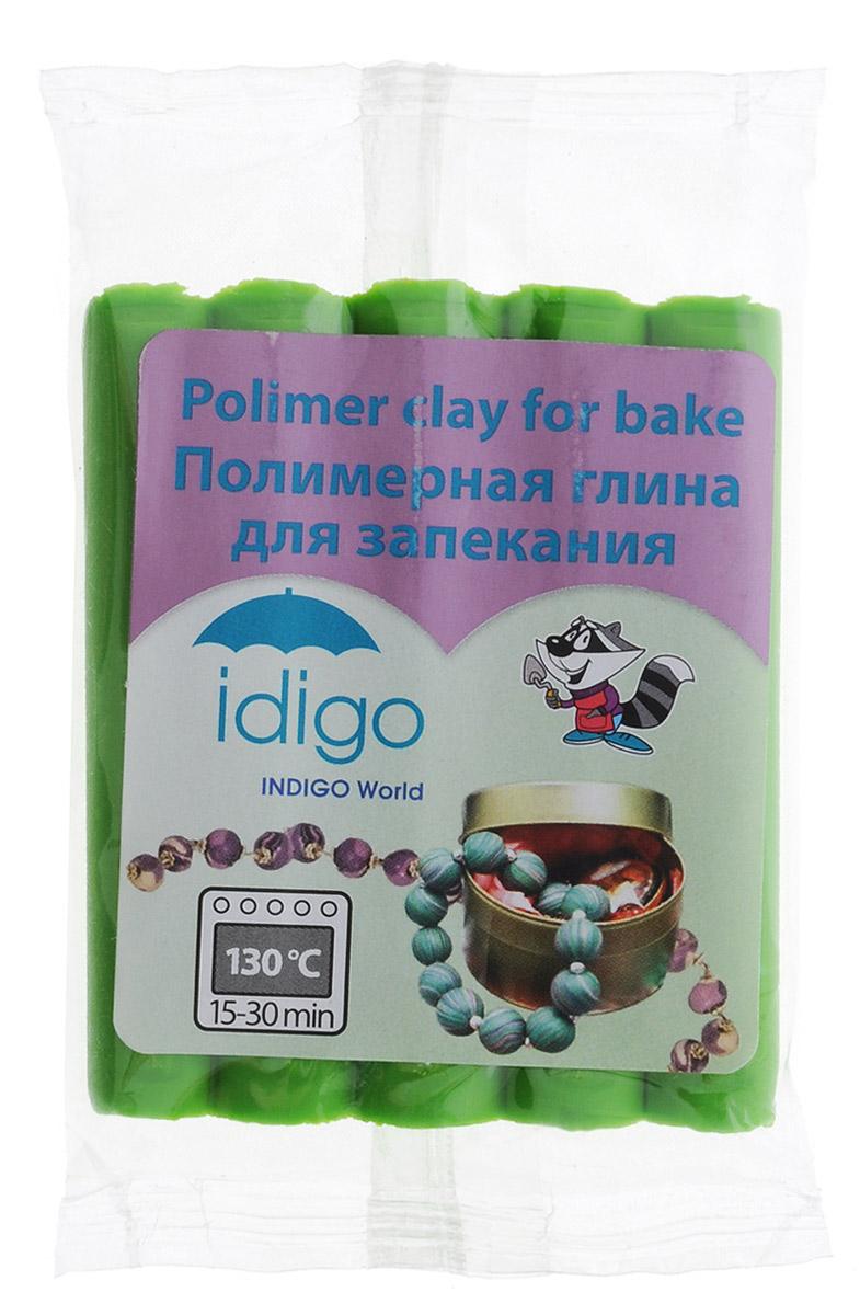 Idigo Полимерная глина цвет зеленыйsm55811Мягкая масса на полимерной основе (пластика) Idigo идеально подходит для лепки небольших изделий (украшений, скульптурок, кукол) и для моделирования. Глина обладает отличными пластичными свойствами, хорошо размягчается и лепится, легко смешивается между собой, благодаря чему можно создать огромное количество поделок любых цветов и оттенков. В домашних условиях готовая поделка выпекается в духовом шкафу при температуре 130°С в течении 15-30 минут (в зависимости от величины изделия). Отвердевшие изделия могут быть раскрашены акриловыми красками, покрыты лаком, склеены друг с другом или с другими материалами.
