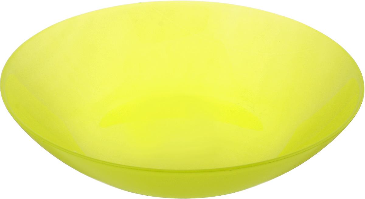 Тарелка глубокая Luminarc Arty Anis, диаметр 20 смH8768Глубокая тарелка Luminarc Arty Anis выполнена из ударопрочного стекла и имеет классическую круглую форму. Она прекрасно впишется в интерьер вашей кухни и станет достойным дополнением к кухонному инвентарю. Тарелка Luminarc Arty Anis подчеркнет прекрасный вкус хозяйки и станет отличным подарком. Диаметр тарелки (по верхнему краю): 20 см.