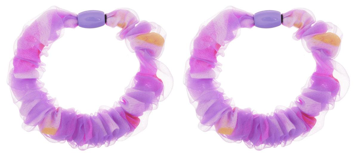 Baby's Joy Резинка для волос цвет фиолетовый 2 шт VT 437