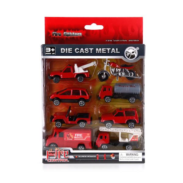Plastic Toy Набор из 8 машинокB1196268Целая коллекция, из 8-ми металлических машинок, порадует Вашего малыша. Машинки яркие, различные на долго заинтересуют ребенка.