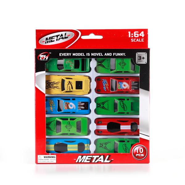 Plastic Toy Набор из 10 машинокB1374355Набор из 10-ти разноцветных спортивных металлических машинок. Теперь у Вашего малыша будет целая коллекция сразу. Он сможет разыгрывать свою собственную гонку. Прочный безопасный материал. Развивает у ребенка фантазию.