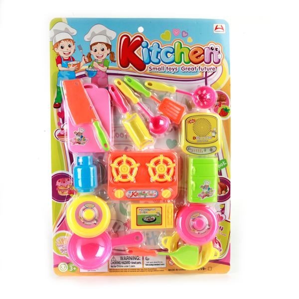Plastic Toy Игровой набор посуды B1385074B1385074Набор посуды понравится маленьким хозяюшкам, ведь с такой посудой можно пригласить на чаепитие все свои игрушки. Посудка яркая и разноцветная, поэтому ее смело можно поставить на праздничный стол, чтобы отметить день рождения любимой куклы, играя в дочки - матери. Игрушечная посудка изготовлена из качественных и нетоксичных материалов.