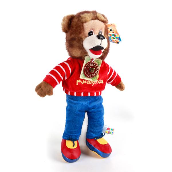 Мульти-Пульти Мягкая игрушка МишуткаV90746/23A,BМягкая игрушка Спокойной ночи, малыши. Мишутка повторяет облик одного из персонажей знаменитой телепередачи для детей. Благодаря своему размеру ребенку удобно обнимать мягкого медвежонка, а если нажать на лапку игрушки, заиграет мелодичная колыбельная.