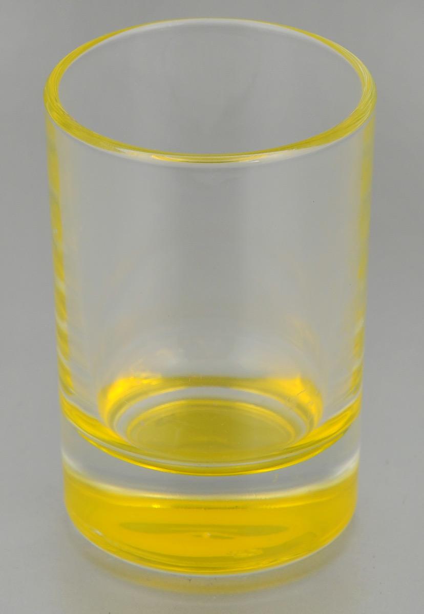 Стопка OSZ Лак микс, цвет: прозрачный, желтый, 50 мл02С1022 ЛМ_прозрачный, желтыйСтопка OSZ Лак микс изготовлена из прозрачного стекла с цветным донышком. Идеально подходит для крепких спиртных напитков. Такая стопка станет отличным дополнением сервировки стола. Диаметр стопки (по верхнему краю): 4,5 см. Диаметр основания: 4 см. Высота стопки: 7 см.