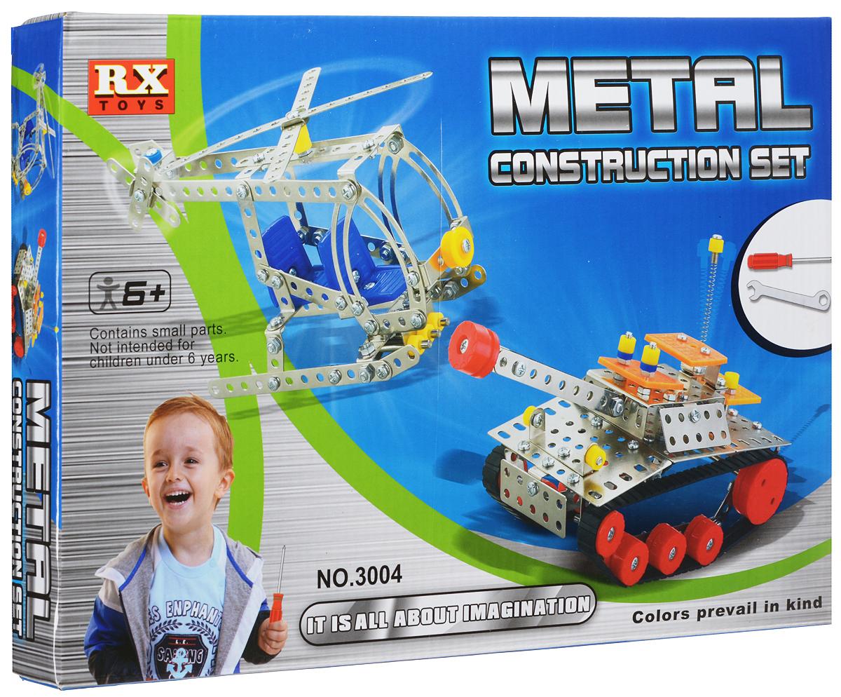 Bradex Конструктор Metal Construction SetDE 0115Конструктор Bradex Metal Construction Set предназначен любознательных малышей. Конструктор - лучший инструмент для развития пространственного мышления, логики и сообразительности ребенка. Помимо этого металлический конструктор способствует развитию мелкой моторики и координации. Развивайте ребенка дома создавая вместе с ним модели танка и вертолета. Кроме того, из деталей юный техник может создать абсолютно любую фигуру или вид транспорта. Для этого достаточно лишь следовать за воображением. Не упустите шанс порадовать своего ребенка замечательным подарком!