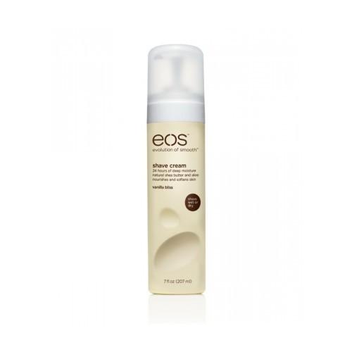 EOS Крем для бритья Vanilla Bliss, 207 мл002014Увлажняющий крем для бритья тела с ароматом ванили для женщин. Не содержит парабенов. Применяется в косметических целях для увлажнения и питания кожи во время бритья.