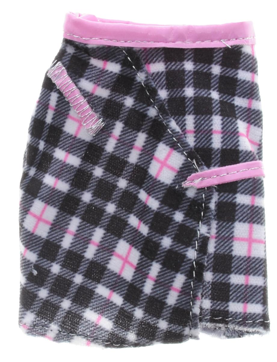 Barbie Одежда для кукол Юбка цвет черный розовыйCFX73_DHH47Когда возможности безграничны, гардероб должен быть таким же! В этой стильной юбке Барби (продается отдельно) будет неотразима с утра до вечера. Юбка черного цвета в стильную клетку всегда на пике моды! Если собрать всю коллекцию одежды для куклы Барби, можно будет подобрать наряды для самых разных сюжетов! Одежда подходит для большинства кукол Барби.